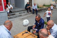 Games - Echmiadzin, Armenia by Maciej Dakowicz - A street scene from Echmiadzin, Armenia. Street photography: www.maciejdakowicz.com/street-photography/