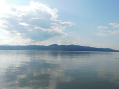 Lake Champlain (jimmywayne) Tags: vermont addisoncounty chimneypoint lakechamplain bridge