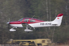 HB-KHE - 2003 build Cirrus SR20, arriving on Runway 24 at Friedrichshafen during Aero 2017 (egcc) Tags: 1330 aero aerofriedrichshafen aerofriedrichshafen2017 bodensee cirrus cirrusdesign cirrusflyingclub edny fdh friedrichshafen hbkhe lightroom n100eu sr20