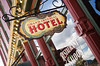Grand Imperial Hotel (frank thompson photos) Tags: colorado hotelsinnsbbs mainstreetsmalltownbusinesses signsignage silvertonco hotel grandimperialhotel lightroom4