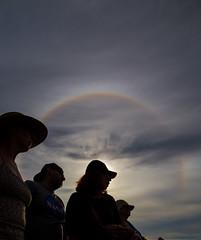 Sun Halo - Eclipse Eve (wjshawiii) Tags: madras oregon solareclipse2017 sunhalo