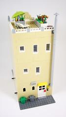[MOD] [MOC] 41311 - Heartlake Pizzeria 1.0 03 (-Nightfall-) Tags: lego moc mod modularbuilding modular friends pizzeria 41311