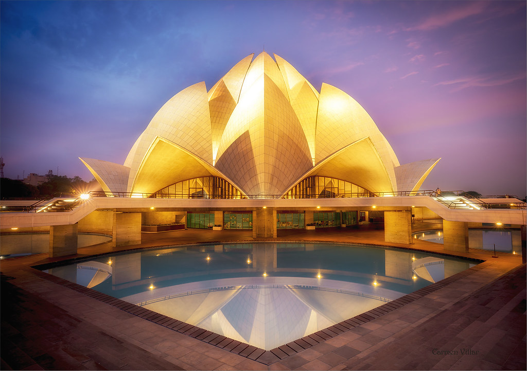The world 39 s best photos of templo flickr hive mind for The lotus temple