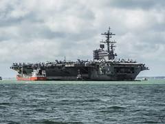 USS GEORGE H W BUSH, STOKES BAY (JETA1PHOTOS) Tags: cvn77 stokes bay uss george h w bush