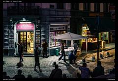Light and Stone (Falcdragon) Tags: sonya7riialpha sonyzeisssonnarfe1855mmza evening liège luik lüttich belgium europe city urban streetphotography cityscape light