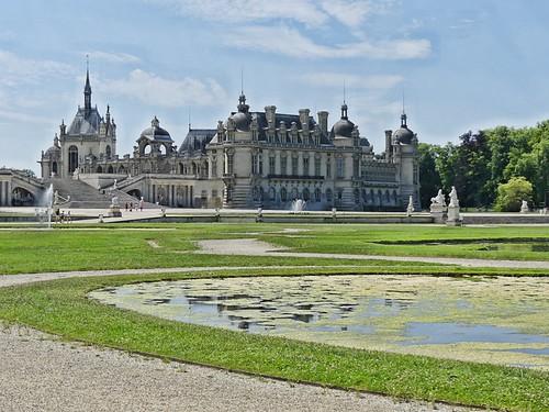 F16 parc de Chantilly