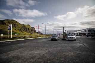 Vik/Iceland gas station