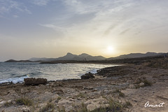 Sunset in Calblanque (amart1976) Tags: sunset naturalpark murcia seashore coastline calblanque spain nikond5200