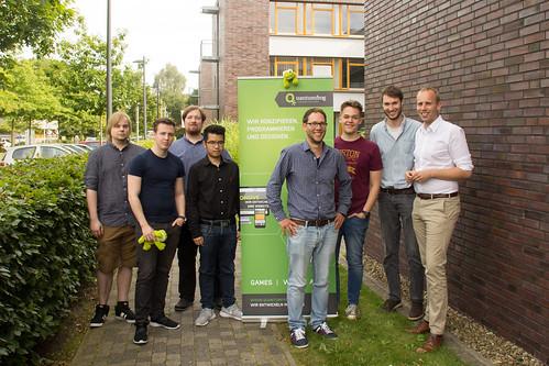 Die Firma Quantumfrog im Technologie- und Gründerzentrum Oldenburg entwickelt Apps und Spiele - ein spannender Besuch!