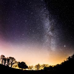 Night of the stars (Zeeyolq Photography) Tags: stars france sky night bretagne canon6d 12800iso space milizac fr
