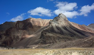 Landscape of Spiti valley, India 2016