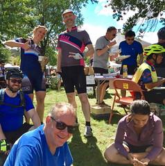 WABA 50 States Ride 2017 Lunch Break (Mr.TinDC) Tags: people friends cyclists 50statesride dc washingtondc