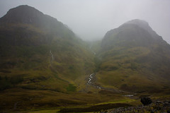 The Sisters (karenmunro2) Tags: glencoe scotland highlands mountains mist autumn atmosphere waterfall