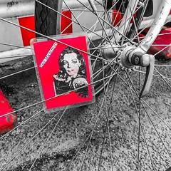 #spokecard #romyschneider #berlincycles #berlincycles (BERLIN CYCLES) Tags: berlin berlincycles speedbikes fixies hipster fixedgear