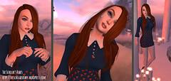 Sunset Magic (The Scholar's Robes) Tags: ysé hairology alaskametro3 cubiccherry on9 blush sponcered cureless poppyfashions whimsical yummy cosmeticsfair thesecretstore {anc} sarisari mysticalfaeforest secondlife secondlifefashion secondlifeblogger secondlifefashionblogger izzies gacha