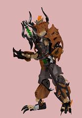Ignite 2 (Folisk) Tags: lego moc bionicle ccbs technic system ldd digital design pov imp devil fire