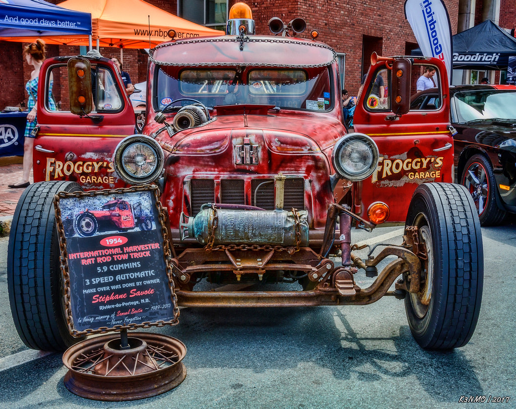 The Worlds Best Photos Of Carshow And Towtruck Flickr Hive Mind 1954 Dodge Tow Truck International Harvester Rat Rod Kenmojr Tags 2017 Antique Atlanticnationals Auto