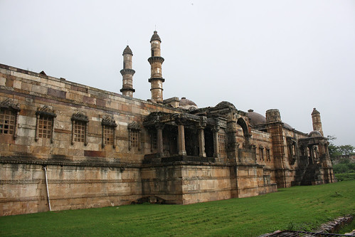 Northern side of Jami masjid, Champaner, Gujarat