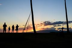 Enjoying the moment (rikioscamera) Tags: honolulu oahu d750 hawaii island lightroom nikon sunset travel alamoanabeachpark magicisland
