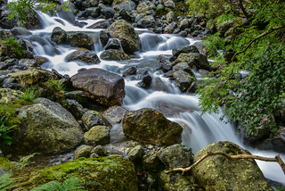 Waterfall on Scafell
