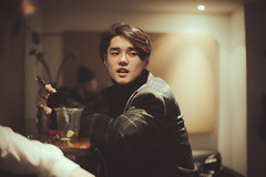 Dean in London (Letselliott) Tags: instax korea korean kpop live london music photography portrait portraits singer singersongwriter ロンドン 딘 런던 backstage behind scenes bts club eskimo dean deanfluenza diary feature fanxychild bricklane roughtrade roughtradeeast roughtraderecords shopping record