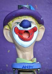 Creepy Clown (KaDeWeGirl) Tags: maryland oceancity boardwalk arcade andy creepy clown pop balloon game
