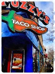 Fuzzy's Taco Shop (ernie_nh7l) Tags: lawrencekansas lawrence fuzzystacoshop