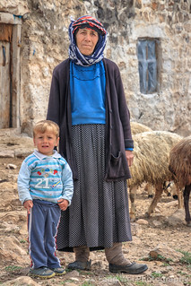 Grandma & Grandson, Alem Village, Kars, Turkey