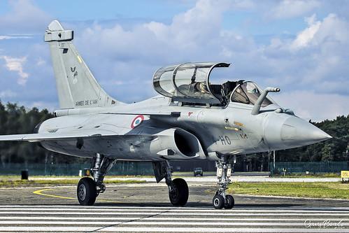 Armée de l'Air - Dassault Rafale B - 317 [4-HO] AA ETR 01.004 St. Dizier AB