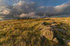 'Stone-Aged' - Bryn Cader Faner, Snowdonia (Kristofer Williams) Tags: bryncaderfaner ringcairn cairn crownofthorns bronzeage stonecircle megalithic landscape light rock stone wales snowdonia