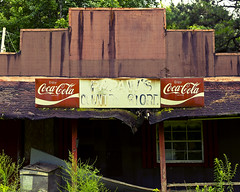 Down in Mississippi (63) (momentspause) Tags: canonef50mmf18 niftyfifty canon5dmkiii mississippi abandoned cocacola sign building