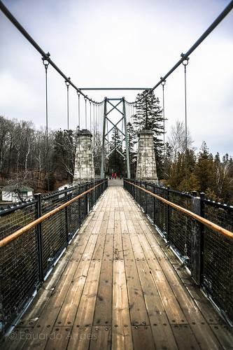 Montmorency Falls Bridge
