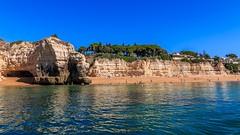 Praia da Cova Redonda (grzegorzmielczarek) Tags: algarve boattrip nossasenhoradarocha portugal praiadacovaredonda porches faro
