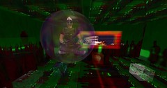 Bubble in Cube (Jaisun Lendt) Tags: scifi zed secondllife sl fantasy