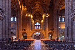 Cathedral interior (Michal Hajek) Tags: d5500 uk liverpool nikon sigma1020mm christiangroup