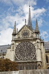 Notre Dame - Rose Window From The Seine (dcstep) Tags: n7a1192dxo paris îledefrance france fr vikingcruises allrightsreserved copyright2017davidcstephens dxoopticspro1142 vacation travel