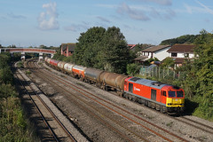 60001 19-09-17 (IanL2) Tags: dbcargo class60 60001 magor tanks newport railways trains