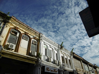 Shophouses in George Town, Malaysia