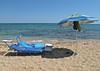 Torniamo subito. (sangiopanza2000) Tags: spiaggia beach lettini ombrellone sunumbrella sabbia sand mare sea