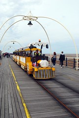 Southport Pier Land Train (zawtowers) Tags: southport merseyside north west england cloudy dry sunday 22nd august 2017 day out visit seaside resort destination beach sea pier second longest pleasure grade ii listed victorian opened 1860 land train vehicle replacement for tram
