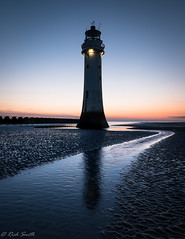 Dusk!!! (evorichie101) Tags: landscape seascape dusk blue hour sunset nikon perch rock new brighton mersey breakwater groyne sun vibrant curve stream
