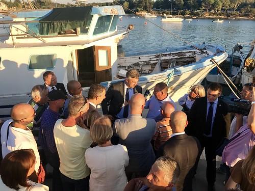 Predsjednik Vlade Andrej Plenković u posjetu Poreču, Umagu i Savudriji