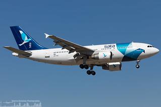 CS-TKN SATA International Airbus A310-325 (LIS - LPPT)