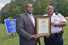 Germanna earns Crime Prevention Campus recognition (Germanna CC) Tags: 2017 august25 fridayafternoon gcc germannacommunitycollegecouncil lgc locustgrovecampus locustgrove va usa faculty staff crimeprevention