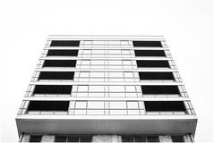 Block (MatthewsCamera) Tags: towerblock northernireland belfast minimalist architecture monochrome blackandwhite blackwhite sharp detailing prime canon 50mm 5014 f14 5d british