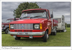 Ford Transit Flatbed (Paul Simpson Photography) Tags: fordtransit ford lorry van transitvan paulsimpsonphotography imagesof imageof photoof photosof red 1980s commercial commercialvan sonya77 sonyphotography sonycameras lincolnshireshowground lincs lincolnshire transport transportshow british car vintageshow truck show