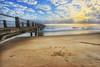0110499 ~ tuju (alongbc) Tags: kijal kemaman terengganu malaysia travel place trip sunrise beach coast cloud sky jetty canon eos550d canoneos550d tamron tamronlens 10mm24mm wideangle