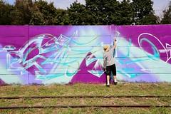 MOSHungary2017 (Paulee (NZ)) Tags: moshungary meetingofstyleshungary moshungary2017 streetart graffiti meetingofstyles streetphotography art urban budapestgraffiti budapest hungary style colours graffitijam creatives europe