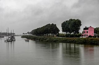 Jour de pluie sur la Somme