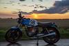 IMG_0443 (oliverkrysell) Tags: motorcycle motorbike motorcycles cb honda cb400n 400cc trackbike track racebike machine racer sunset golderhoure magichoure canon canonusa 6dmark2 6d fullframe
